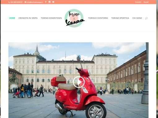 Torino in Vespa